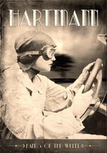 """Hands On The Wheel"" HQ-Poster 100x70cm"
