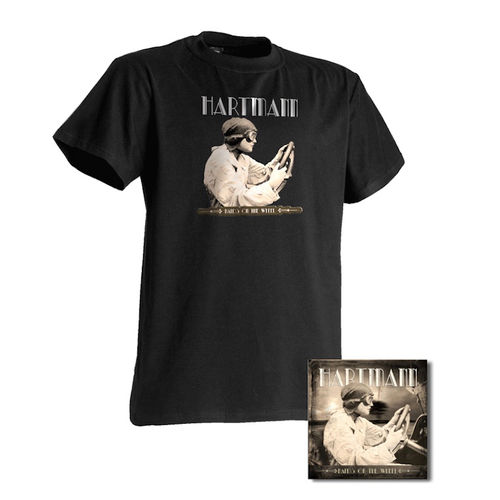 """Hands On The Wheel"" - Lady-Shirt + CD"